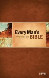 NIV Every Man's Bible, Hardcover