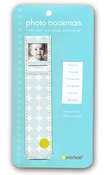 Photo Bookmark Baby Boy Blue