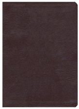 ESV Reformation Study Bible (2nd Edition) - Genuine Leather, Burgundy