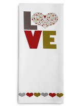 Love Tea Towel and Greeting Card