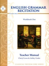 English Grammar Recitation Workbook One Teacher Manual