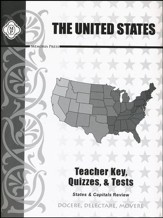 United States Review Teacher Key and Tests - Slightly Imperfect
