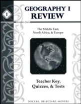 Geography 1 Review: Teacher Key, Quizzes, & Tests