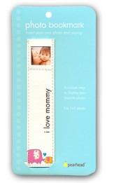 Baby Photo Bookmark - I love Mommy