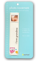 Baby Photo Bookmark - I Love Grandma