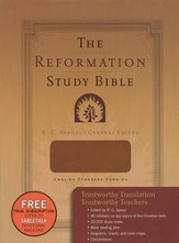 ESV Reformation Study Bible (2nd Edition), Leather-Like, Brown