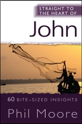 Straight to the Heart of John: 60 bite-sized insights - eBook