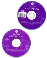 Latin Recitation CD/DVD Set