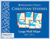 Christian Studies, Large Wall Maps, 5 Maps
