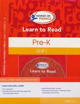 Learn to Read--Pre-K Level 1 Kit