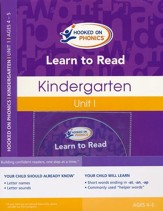 Learn to Read--Kindergarten Level 1 Kit