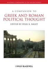 A Companion to Greek and Roman Political Thought - eBook