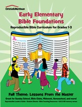 Bible Foundations Curriculum Grades 1-3 Fall, Year A - PDF Download [Download]
