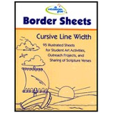 A Reason for Handwriting, Border Sheets Cursive Line Width 2010  Edition