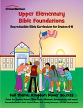 Bible Foundations Curriculum Grades 4-6 Fall, Year A - PDF Download [Download]