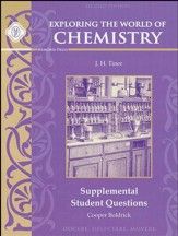 Exploring the World of Chemistry Supplemental Student Questions, Second Edition