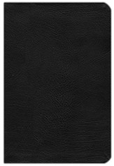 NLT Life Application Study Bible, Bonded Leather, Black  - Slightly Imperfect