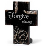 Forgive Always Tabletop Cross