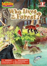 Who Lives In The Forest? Playset