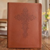 Journal with Embossed Cross