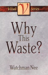 Why This Waste? - eBook