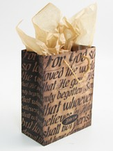 For God So Loved, John 3:16, Giftbag, Medium