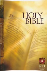NLT Holy Bible Text Edition, Paperback
