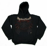 Relentless Hoodie, Black, Medium