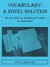 Vocabulary: A Novel Solution for use with Cry, the Beloved Country