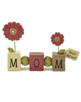 Mom Bead Block Figurine