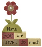 Nan, You Are Loved So Much, Block Figure