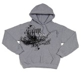 Strength Hoodie, Gray, Large