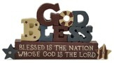 God Bless, Blessed Is the Nation Figure