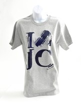 I Love JC Shirt, Gray, XX Large