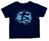 Know Him Doodle Shirt, Navy, Youth Extra Small - Slightly Imperfect