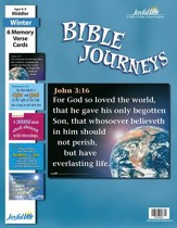 Bible Journeys Middler (Grades 3-4) Memory Verse  Visuals