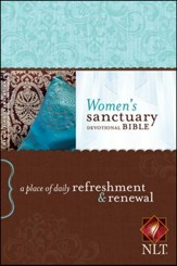 NLT Women's Sanctuary Devotional Bible, Paperback