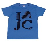 I Love Jesus Shirt, Blue, Youth Extra Small