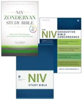 Essential NIV Study Bundle, 3-Volumes