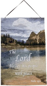 The Lord Blesses His People Wall Hanging
