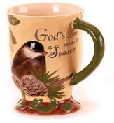 Gods Love Chickadee Mug