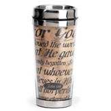 For God So Loved, John 3:16, Travel Mug