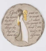 Angel, Serenity Prayer Stepping Stone