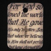 For God So Loved, John 3:16, Lapel Pin