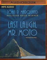 #5: Last Laugh, Mr. Moto - unabridged audio book on MP3-CD