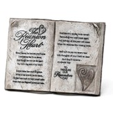 The Reunion Heart Tabletop Plaque