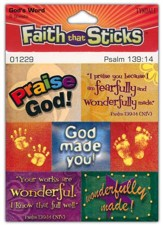 Stickers: Psalm 139:14