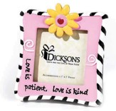 Love is Patient Magnet Photo Frame