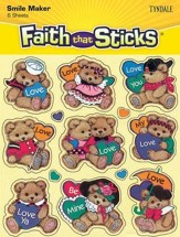 Stickers: Bears And Hearts
