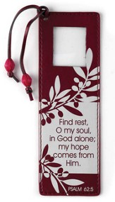 Find Rest, O My Soul Magnifier Bookmark
